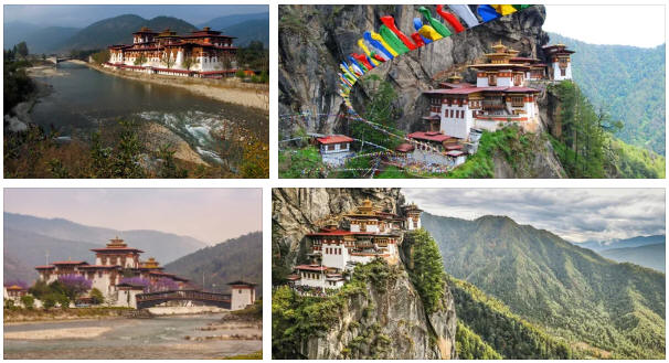 Bhutan: geography, map