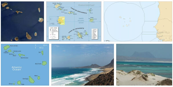 Cape Verde: geography, map