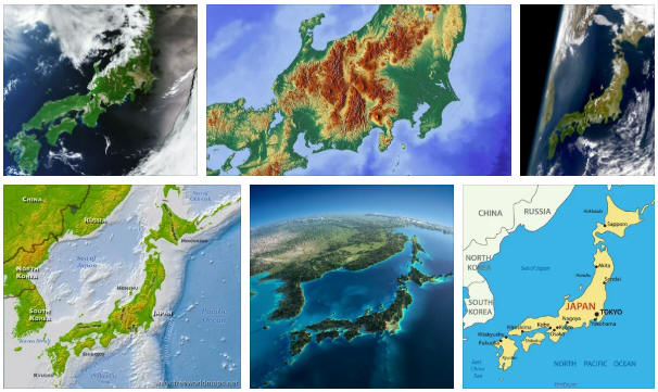 Japan: geography, map