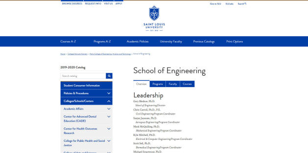 St. Louis University Engineering School