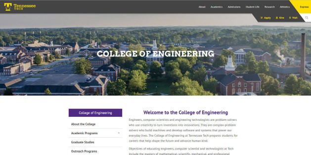 Tennessee Technological University Engineering School