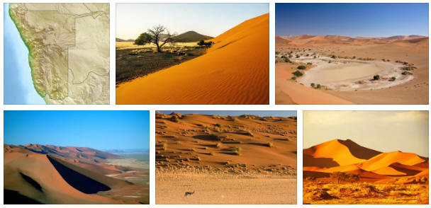 Namibia: geography and map